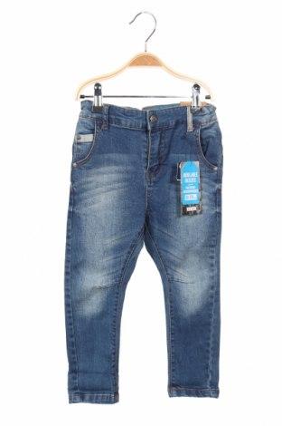 Dětské džíny  Reserved, Rozměr 18-24m/ 86-98 cm, Barva Modrá, 99% bavlna, 1% elastan, Cena  438,00Kč