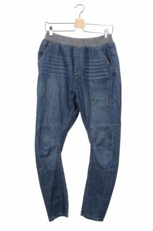 Dětské džíny  Reserved, Rozměr 15-18y/ 170-176 cm, Barva Modrá, 80% bavlna, 20% polyester, Cena  480,00Kč