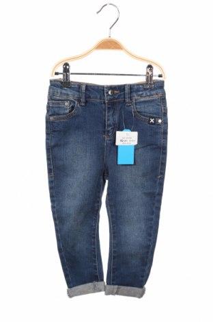 Dětské džíny  Reserved, Rozměr 18-24m/ 86-98 cm, Barva Modrá, 95% bavlna, 3% polyester, 2% elastan, Cena  438,00Kč