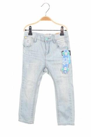 Dětské džíny  Reserved, Rozměr 18-24m/ 86-98 cm, Barva Modrá, Bavlna, Cena  438,00Kč