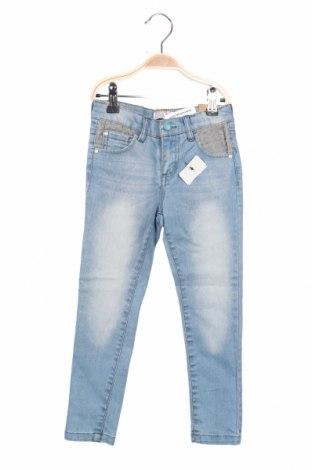 Dětské džíny  Reserved, Rozměr 3-4y/ 104-110 cm, Barva Modrá, 98% bavlna, 2% elastan, Cena  438,00Kč