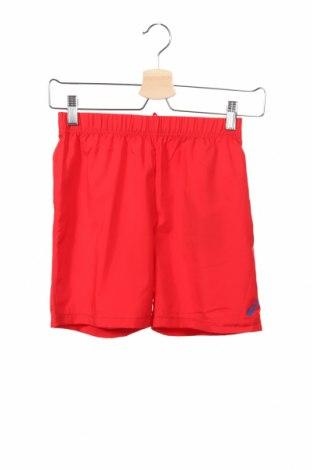 Pantaloni scurți de copii ASICS, Mărime 8-9y/ 134-140 cm, Culoare Roșu, Poliester, Preț 69,16 Lei