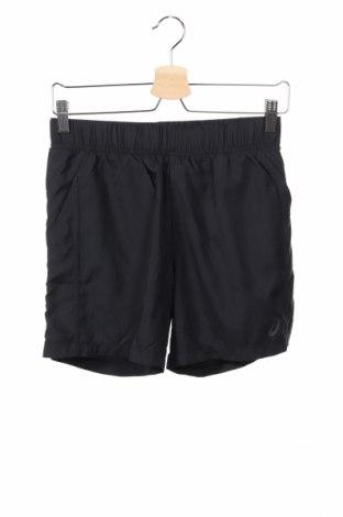 Pantaloni scurți de copii ASICS, Mărime 12-13y/ 158-164 cm, Culoare Negru, Poliester, Preț 69,16 Lei