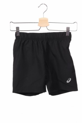 Pantaloni scurți de copii ASICS, Mărime 9-10y/ 140-146 cm, Culoare Negru, Poliester, Preț 69,16 Lei