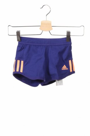 Dětské krátké kalhoty  Adidas, Rozměr 4-5y/ 110-116 cm, Barva Fialová, 95% bavlna, 5% elastan, Cena  438,00Kč