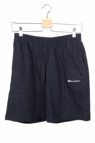 Dětské krátké kalhoty  Champion, Rozměr 13-14y/ 164-168 cm, Barva Modrá, Bavlna, Cena  302,00Kč