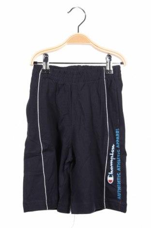 Dětské krátké kalhoty  Champion, Rozměr 3-4y/ 104-110 cm, Barva Modrá, Bavlna, Cena  302,00Kč