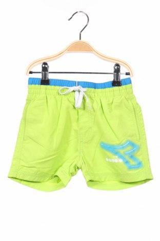 Detské krátke nohavice  Diadora, Veľkosť 3-4y/ 104-110 cm, Farba Zelená, Polyamide, Cena  10,76€