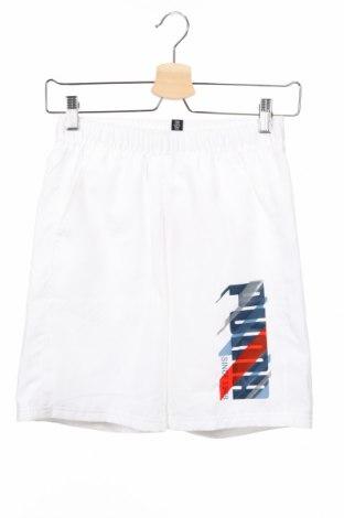 Παιδικό κοντό παντελόνι PUMA, Μέγεθος 11-12y/ 152-158 εκ., Χρώμα Λευκό, Πολυεστέρας, Τιμή 14,67€