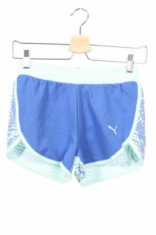 Παιδικό κοντό παντελόνι PUMA, Μέγεθος 11-12y/ 152-158 εκ., Χρώμα Πράσινο, 88% βαμβάκι, 12% πολυεστέρας, Τιμή 14,67€