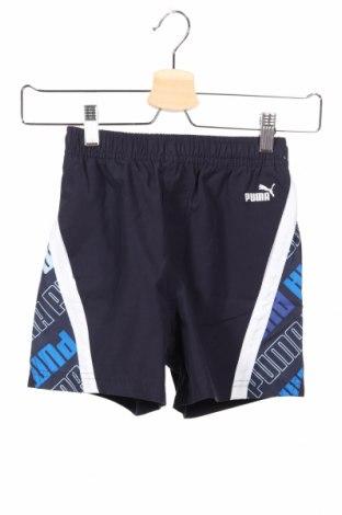 Detské krátke nohavice  PUMA, Veľkosť 7-8y/ 128-134 cm, Farba Modrá, Polyester, Cena  14,47€