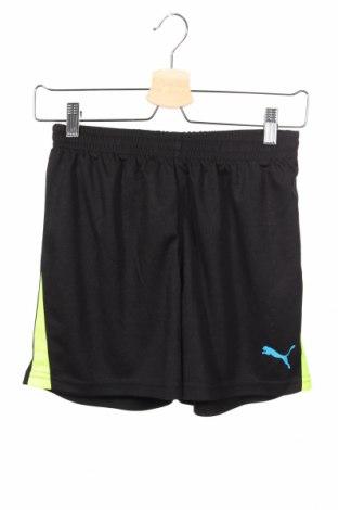 Παιδικό κοντό παντελόνι PUMA, Μέγεθος 10-11y/ 146-152 εκ., Χρώμα Μαύρο, Πολυεστέρας, Τιμή 14,67€