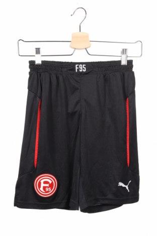 Dětské krátké kalhoty  PUMA, Rozměr 8-9y/ 134-140 cm, Barva Černá, Polyester, Cena  407,00Kč