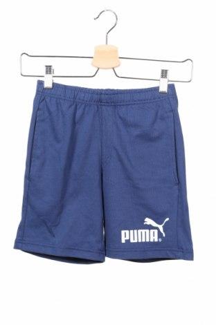 Detské krátke nohavice  PUMA, Veľkosť 6-7y/ 122-128 cm, Farba Modrá, Bavlna, Cena  14,47€