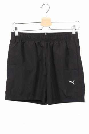 Detské krátke nohavice  PUMA, Veľkosť 15-18y/ 170-176 cm, Farba Čierna, Polyester, Cena  15,08€