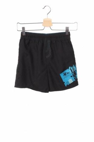 Pantaloni scurți de copii PUMA, Mărime 9-10y/ 140-146 cm, Culoare Negru, Poliester, Preț 80,69 Lei