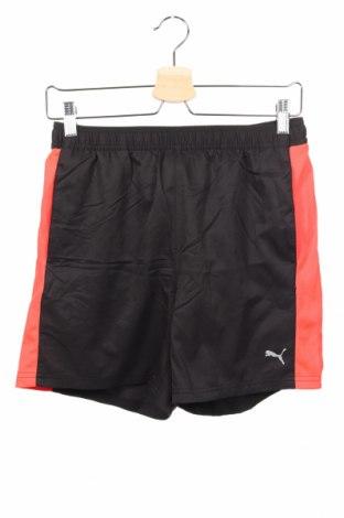 Dětské krátké kalhoty  PUMA, Rozměr 15-18y/ 170-176 cm, Barva Černá, Polyester, Cena  407,00Kč