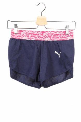 Παιδικό κοντό παντελόνι PUMA, Μέγεθος 10-11y/ 146-152 εκ., Χρώμα Μπλέ, Βαμβάκι, Τιμή 14,47€