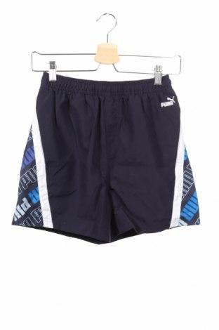 Dětské krátké kalhoty  PUMA, Rozměr 13-14y/ 164-168 cm, Barva Modrá, Polyester, Cena  407,00Kč
