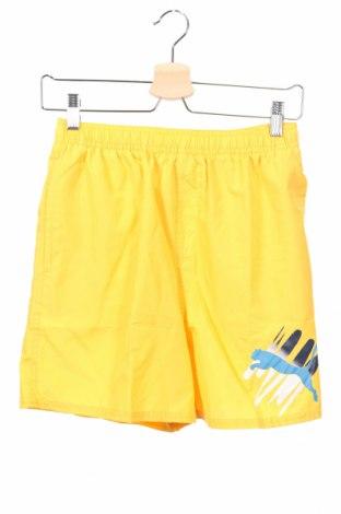 Dětské krátké kalhoty  PUMA, Rozměr 15-18y/ 170-176 cm, Barva Žlutá, Polyester, Cena  407,00Kč