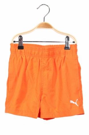 Dětské krátké kalhoty  PUMA, Rozměr 7-8y/ 128-134 cm, Barva Oranžová, Polyester, Cena  344,00Kč