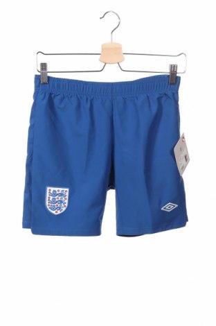 Pantaloni scurți de copii Umbro, Mărime 11-12y/ 152-158 cm, Culoare Albastru, Preț 61,47 Lei