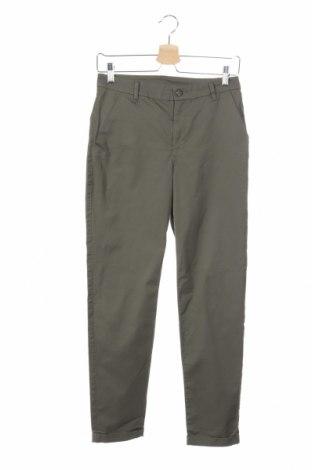Παιδικό παντελόνι H&M, Μέγεθος 13-14y/ 164-168 εκ., Χρώμα Πράσινο, 97% βαμβάκι, 3% ελαστάνη, Τιμή 24,19€