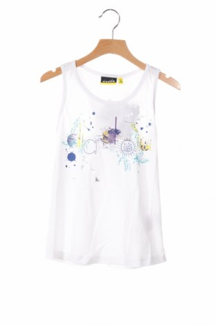 Μπλουζάκι αμάνικο παιδικό Diadora, Μέγεθος 9-10y/ 140-146 εκ., Χρώμα Λευκό, Βαμβάκι, Τιμή 9,07€