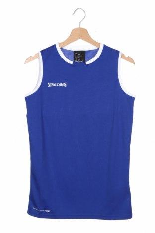 Detské tielko  Spalding, Veľkosť 13-14y/ 164-168 cm, Farba Modrá, Polyester, Cena  9,65€