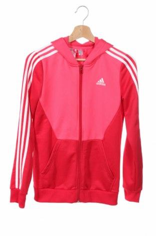 Hanorac de copii Adidas, Mărime 14-15y/ 168-170 cm, Culoare Roz, 100% poliester, Preț 65,00 Lei