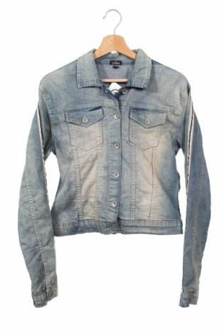 Dětská džínová bunda  Queenz, Rozměr 15-18y/ 170-176 cm, Barva Modrá, 83% bavlna, 15% polyester, 2% elastan, Cena  515,00Kč