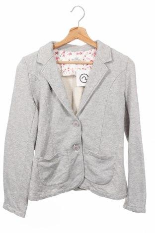 Παιδικό σακάκι H&M L.o.g.g, Μέγεθος 12-13y/ 158-164 εκ., Χρώμα Γκρί, 80% βαμβάκι, 20% πολυεστέρας, Τιμή 16,55€