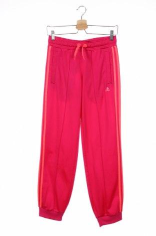 Παιδική κάτω φόρμα Adidas, Μέγεθος 12-13y/ 158-164 εκ., Χρώμα Ρόζ , Πολυεστέρας, Τιμή 17,28€