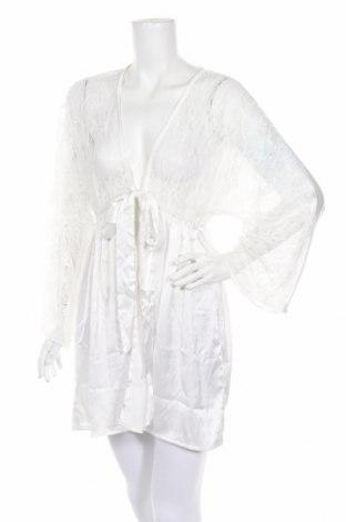 Μπουρνούζι Boohoo, Μέγεθος XS, Χρώμα Λευκό, Πολυεστέρας, Τιμή 12,62€