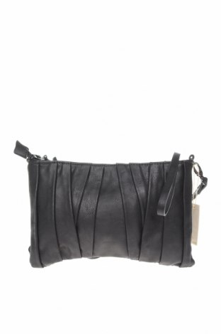 Дамска чанта Pieces, Цвят Черен, Еко кожа, Цена 22,05лв.