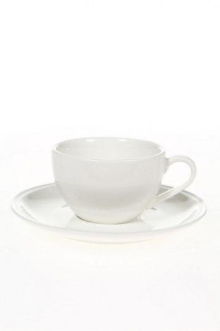 Set pentru cafea Home design, Culoare Alb, Porțelan, Preț 75,95 Lei