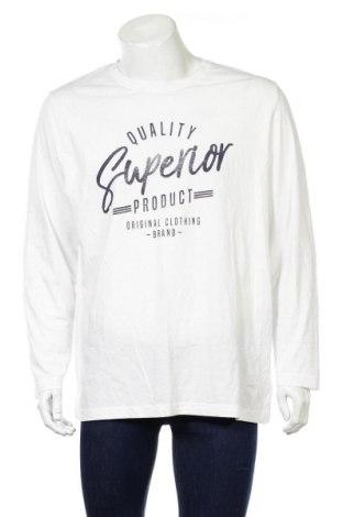 Ανδρική μπλούζα Livergy, Μέγεθος XL, Χρώμα Λευκό, 100% βαμβάκι, Τιμή 8,02€