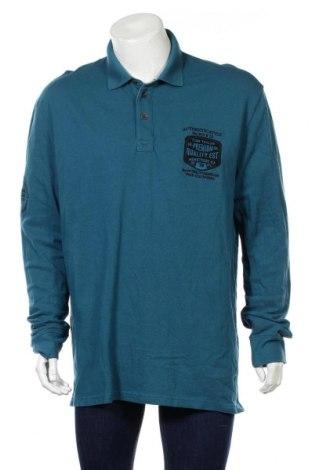 Pánské tričko  Tom Tailor, Rozměr 3XL, Barva Modrá, Bavlna, Cena  585,00Kč
