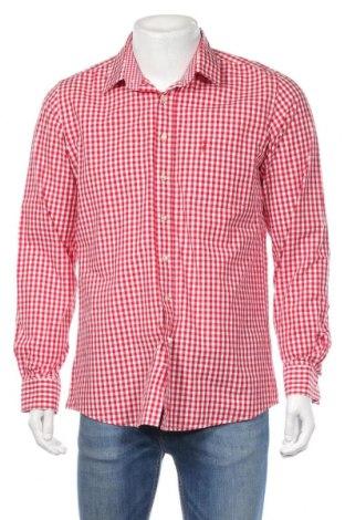 Ανδρικό πουκάμισο Almsach, Μέγεθος L, Χρώμα Κόκκινο, Βαμβάκι, Τιμή 10,49€