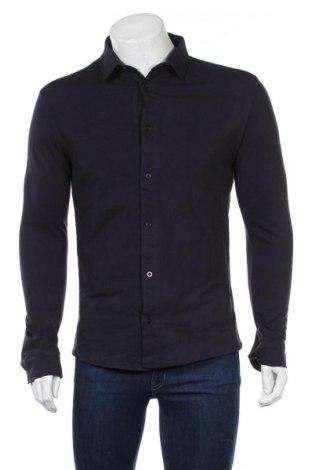 Мъжка риза Boohoo, Размер M, Цвят Син, Цена 28,08лв.