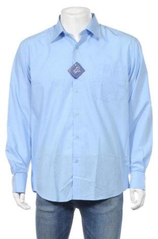 Ανδρικό πουκάμισο Collezioni, Μέγεθος XL, Χρώμα Μπλέ, Βαμβάκι, Τιμή 14,13€