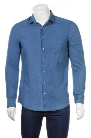 Pánska košeľa  Mango, Veľkosť S, Farba Modrá, Bavlna, Cena  21,90€