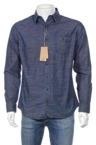 Pánska košeľa  Mango, Veľkosť M, Farba Modrá, Bavlna, Cena  23,01€