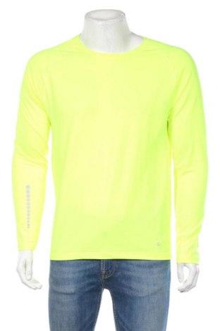 Мъжка спортна блуза Active By Tchibo, Размер M, Цвят Жълт, 88% полиестер, 12% еластан, Цена 18,52лв.