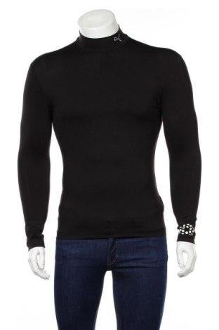 Bluză trening de bărbați PUMA, Mărime L, Culoare Negru, 89% poliester, 11% elastan, Preț 155,92 Lei