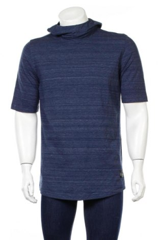 Bluză trening de bărbați Under Armour, Mărime L, Culoare Albastru, 75% bumbac, 21% poliester, 4% elastan, Preț 168,63 Lei