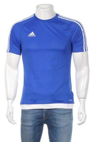 Ανδρικό t-shirt Adidas, Μέγεθος S, Χρώμα Μπλέ, Πολυεστέρας, Τιμή 23,01€