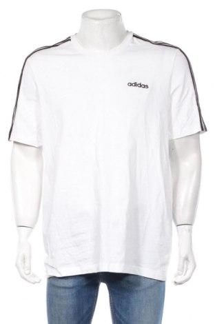 Ανδρικό t-shirt Adidas, Μέγεθος XL, Χρώμα Λευκό, Βαμβάκι, Τιμή 23,01€