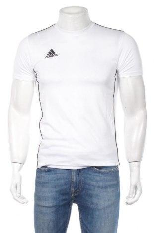 Ανδρικό t-shirt Adidas, Μέγεθος XS, Χρώμα Λευκό, Πολυεστέρας, Τιμή 23,01€