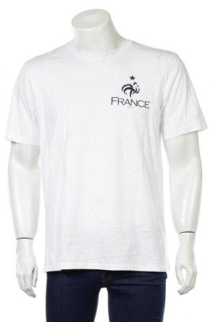 Мъжка тениска FFF France, Размер L, Цвят Бял, Памук, Цена 20,88лв.
